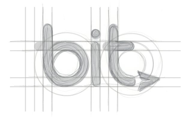 bit logo sketch